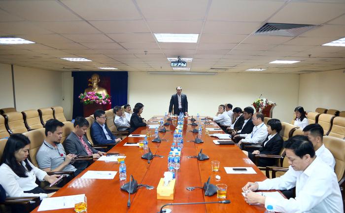 Tổ chức Hội nghị lấy phiếu tín nhiệm với Lãnh đạo Tổng công ty