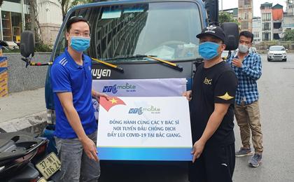 VTC Mobile quyên góp ủng hộ Bắc Giang phòng chống Covid-19