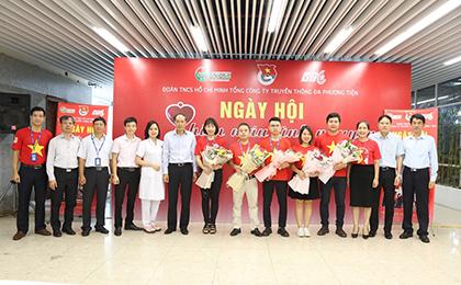Sẻ chia giọt hồng - Ngày Hội hiến máu VTC 2019