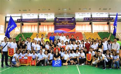 ẢNH ĐẸP NGÀY HỘI THỂ THAO - VĂN HÓA 2017