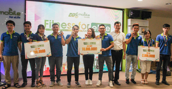 Chung kết Mobile Fitness for elife – Nghẹt thở trong từng pha bóng