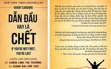 """""""Dẫn đầu hay là chết"""": Cuốn sách bán hàng số một"""